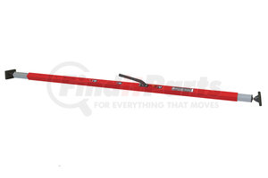 """080-01108 by SAVE-A-LOAD - SL-20 Hydraulic Load Bar with F-Track (round) Ends // 69"""" to 96"""" range // Yellow"""