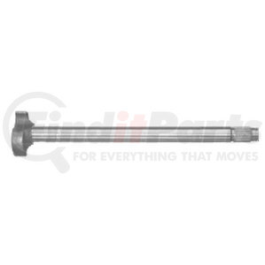"2443BP by POWER PRODUCTS - Trailer Axle LH Camshaft, 20-13/32"" Length, 28 Spline"