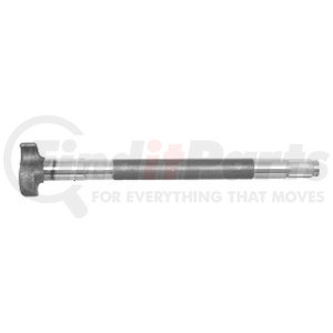 "M-3696-L by BWP-NSI - Trailer Axle LH Camshaft, 17-7/16"" Length, 28 Spline"