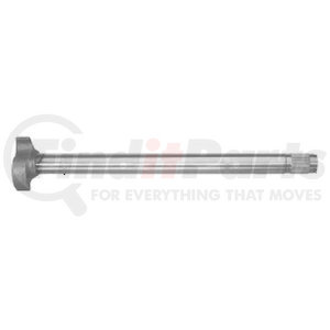 "M-566-L by BWP-NSI - Trailer Axle LH Camshaft, 20-7/16"" Length, 37 Spline"