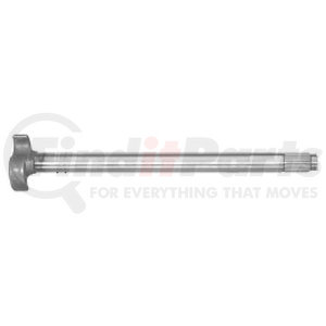 "M-3186-L by BWP-NSI - Trailer Axle LH Camshaft, 23-9/16"" Length, 28 Spline"