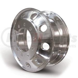 """HDVAW225S by HD VALUE - Aluminum 22.5"""" x 8.25"""" Wheel - 10 Hand Holes"""