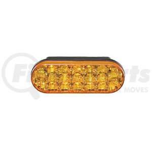 607134-25 by FEDERAL SIGNAL - OVAL LED/GRMT,4X W/SYNC'D