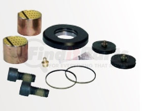 60961-629 by HENDRICKSON - King Pin Bushing and Thrust Bearing Service Kit - One Wheel End, Front Left