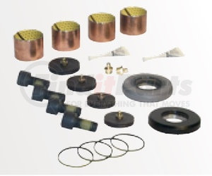 60961-628 by HENDRICKSON - King Pin Bushing and Thrust Bearing Service Kit - Axle Set, Front Right and Left