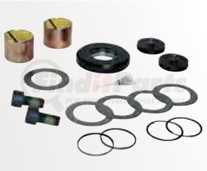 60961-009 by HENDRICKSON - King Pin Bushing and Thrust Bearing Service Kit - One Wheel End, Front Left