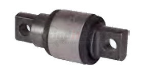 46734-000L by HENDRICKSON - Torque Rod Bushing - Conventional, Offset Straddle, Outer Diameter: 2.75 in.
