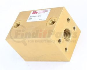 34L1-02240 by HYUNDAI CONSTRUCTION EQUIP. - CHECK VALVE