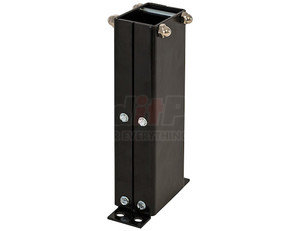 VSC4 by BUYERS PRODUCTS - Black Quad Lever Remote Valve Control Console 6-9/16 Inch Wide x 9 Inch High