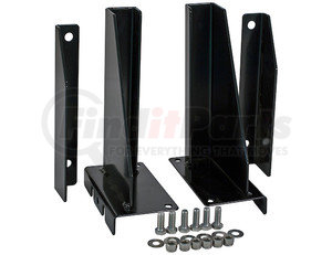 5531020 by BUYERS PRODUCTS - Black Steel Side-Wall Extension Kit for DumperDogg®-Use with Steel Insert