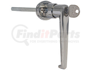 B2394L by BUYERS PRODUCTS - L-Type Locking Door Handle - 3-1/2 Inch Handle Length with CL001 Key