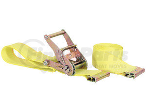 01075 by BUYERS PRODUCTS - 2 Inch by 12 Foot E-Track Ratchet Tie Down