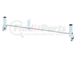 1501311 by BUYERS PRODUCTS - White Crossbar for Van Ladder Rack 1501310