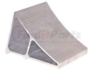 WC6096A by BUYERS PRODUCTS - Small Extruded Aluminum Wheel Chock 6x8.75x5.86 Inch