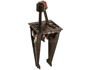 BDS62 by BUYERS PRODUCTS - PTO-Hoist B-Series Dual Lever Control For 5/16-24 Threaded Cable