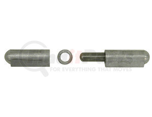 AFSSP100 by BUYERS PRODUCTS - Aluminum Weld-On Bullet Hinge with Stainless Pin and Bushing - 0.77 x 3.94 Inch