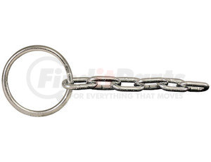 58R6 by BUYERS PRODUCTS - Zinc Welded Ring with 6 Links of Chain for L001 Tailgate Release Lever