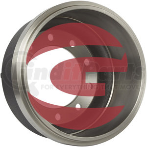 2747F by GUNITE - Brake Drum, Cast Iron, Inboard, 18.00x7.00 (Gunite)