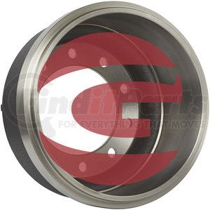 3072X by GUNITE - Brake Drum, Cast Iron, Inboard, 15.00x4.00 (Gunite)