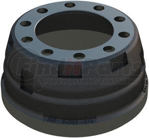 54293-018 by KIC - Standard Premium Brake Drum, Cast Iron, n/a, 15.00x4.00