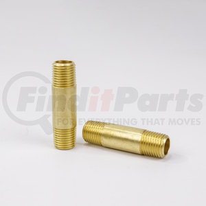 BP113-4-25 by POWER PRODUCTS - Brass Long Nipple 1/4 X 2-1/2