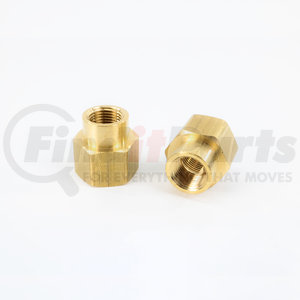 BP119-12-8 by POWER PRODUCTS - Brass Reducer Coupling 3/4 X 1/2