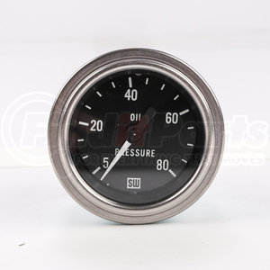 82322 by STEWART WARNER - Deluxe Oil Pressure Gauge