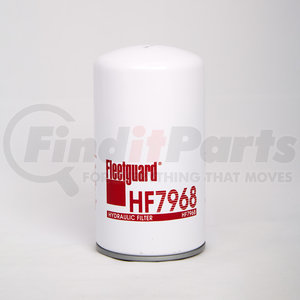 HF7968 by FLEETGUARD - Hydraulic, Spin-On Filter