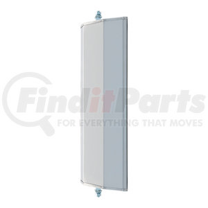 610321 by RETRAC MIRROR - 6in. X 16in. Mirror Head, Brushed Aluminum