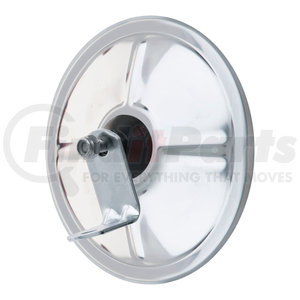 610403 by RETRAC MIRROR - 6in. Round Mirror Head, Convex. Sst, Pbs W/j-brkt