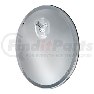 609836 by RETRAC MIRROR - 7 1/2in. Rnd Mir Hd, Offset Convex, Polished Sst