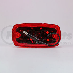 LED508R by POWER PRODUCTS - Double Bullseye M/C Red 2 Led