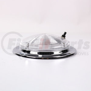 """LT2204 by POWER PRODUCTS - 6-3/8""""Rd Dome Lamp Chrome Finish W/Switc"""