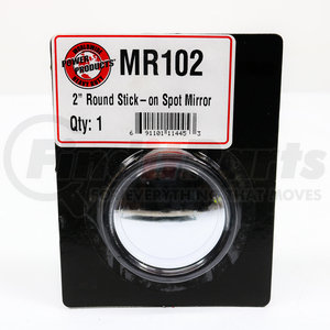 MR102 by POWER PRODUCTS - 2 Round Sitck-On Spot Mirror