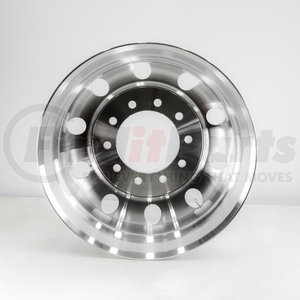 "HDVAW245H by HD VALUE - Aluminum 24.5"" x 8.25"" Wheel - 10 Hand Holes"