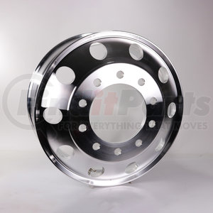 "HDVAW225H by HD VALUE - Aluminum 22.5"" x 8.25"" Wheel - 10 Hand Holes"