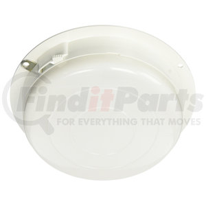61161 by GROTE - Round Dome Lamp with Switch, White Base