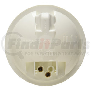 61051 by GROTE - Torsion Mount® II 4in. Round Dome Light, Female Pin, White
