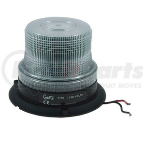 77101 by GROTE - Mighty Mini Strobe Light - Single Flash Clear