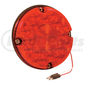 55992 by GROTE - 7″ LED Stop/Tail/Turn Lamp, Red, Turn Lamp w/o Reflex