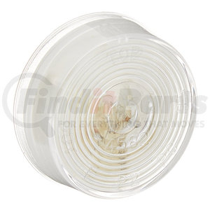 45821 by GROTE - 2″ Twist-In Sealed License Lamp, Clear