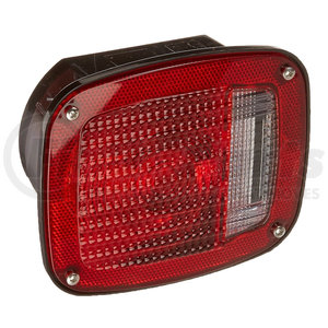 53712 by GROTE - Three-Stud Metri-Pack Stop/Tail/Turn Lamp, Red, LH w/ License Window