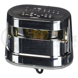 60011-5 by GROTE - Resealable License Plate Light - Triple Chrome