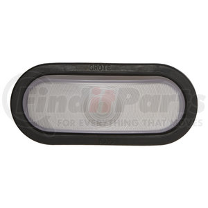 62251 by GROTE - Torsion Mount® III Oval Dual System Backup Lamps, License/Back-up Clear Kit, Female-Pin (62231 + 92420 + 67010)