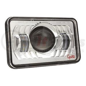 """94411-5 by GROTE - 4""""x 6"""" Rectangular LED Headlight,High Beam, 12-24V"""