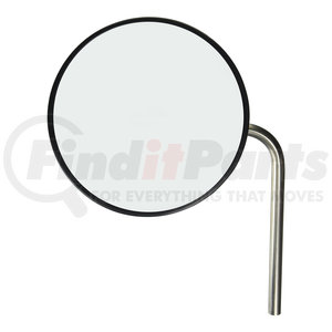 28493 by GROTE - 10 1/2in. Convex Cross-Over Mirror, Mirror Assembly, Stainless Steel