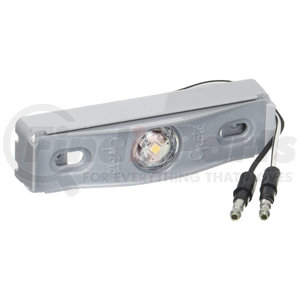 60711 by GROTE - MicroNova® Dot LED License Lamp, With Adaptor Bracket, Kits, Gray