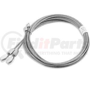 "025-01426 by FLEET ENGINEERS - Door Cable Roll-Up, pair, 1/4"" eye, 97"" length"