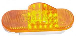 1925A by ROADMASTER - AMBER 18 LED OVAL TURN LIGHT