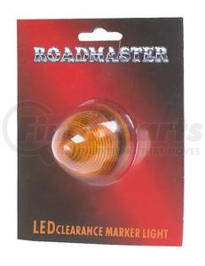 "1821CD-A by ROADMASTER - AMBER 9 LED 2"" BEEHIVE LIGHT"